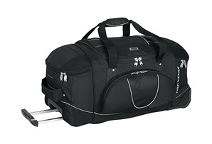 High Sierra AT2 30'' Wheeled Duffle With Straps
