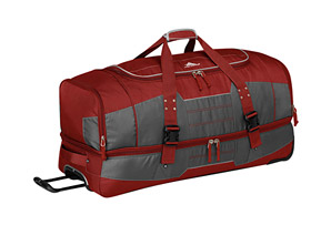 High Sierra Ultimate Access 2.0 36'' Drop-Bottom Wheeled Duffle