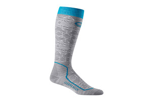 Icebreaker Ski+ Ultra Light Cushion OTC Mountain Icon Socks - Women's