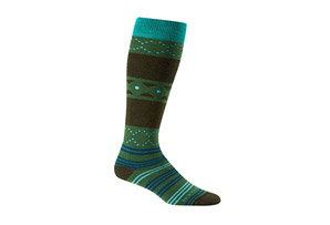 Icebreaker Lifestyle Medium OTC Fiesta Socks - Women's