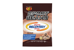 Sports Beans Chocolate Protein Recovery Crisps - Box of 12