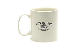 Life is Good Jake's Old School Coffee Mug