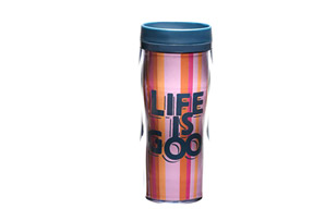 Life is Good Acrylic Travel Mug