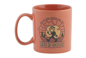 Life is Good Wander Jake's Mug