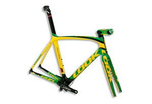 Look Cycle 695 Premium Brazil Flag Frameset - 2013