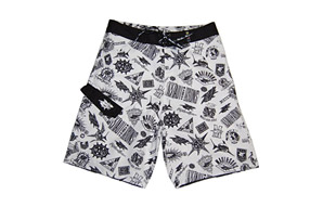 Maui & Sons Logo Madness Boardshort