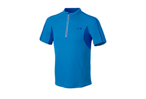 Mountain Hardwear Elmoro S/S Zip Tee - Mens
