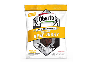 Oberto Original 1.5oz Natural Style Beef Jerky - Box of 8