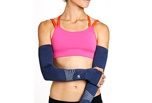 Oiselle Melange Arm Warmers - Womens