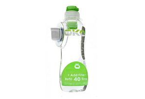 OKO Pure 40 Refill Tap Water Filtration Bottle