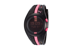 Puma Don't Run Out Of Steam Digital Watch - Womens