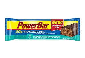 PowerBar Chocolate Mint Cookie 20g ProteinPlus Bar - Box of 15