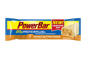 PowerBar Peanut Butter Cookie 20g ProteinPlus Bar - Box of 15