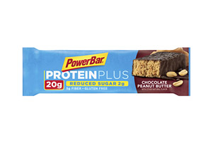 PowerBar Chocolate Peanut Butter 20g ProteinPlus Reduced Sugar - Box of 15