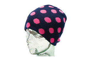Ride Dotty Reversible Long Beanie - Wmns