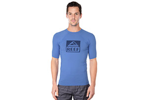 Reef Logo Rash Guard 4 - Men's