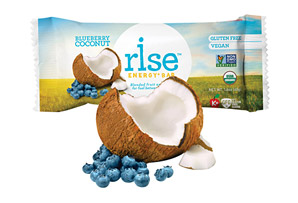 Rise Bar Organic Blueberry Coconut Energy Bar - Box of 12