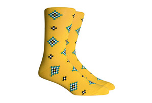 Richer Poorer Observer Socks - Men's