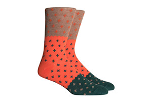 Richer Poorer Neighbor Socks - Men's