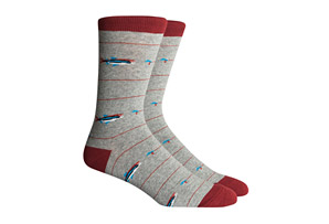 Richer Poorer Angler Socks - Men's