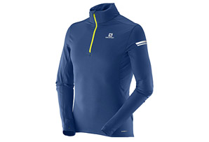 Salomon Agile 1/2 Zip Mid Tee - Men's