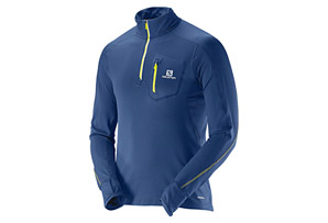 Salomon Trail Runner Warm LS Zip Tee - Men's