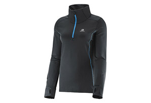 Salomon Agile 1/2 Zip Mid Tee - Women's