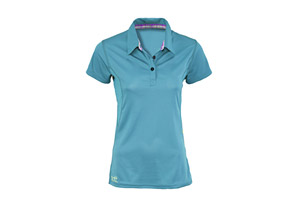 Scott Ozette Polo Short Sleeve Shirt - Womens