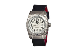 Shield Jarrod Pro Diver Leather Strap Watch - Men's