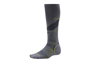 Smartwool PhD Run Graduated Compression UL Pattern Socks