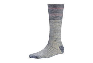 SmartWool Metallic Striped Cable Mid Calf Socks - Women's