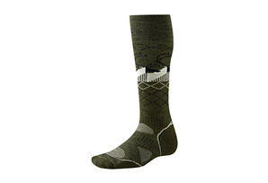 SmartWool Charley Harper Bathurst Inlet PhD Ski Medium Socks