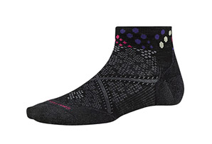 SmartWool PhD Run Light Elite Low Cut Pattern Socks - Women's