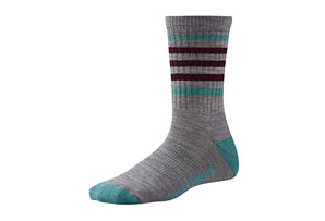 SmartWool Stripe Hike Lite Crew Socks - Women's