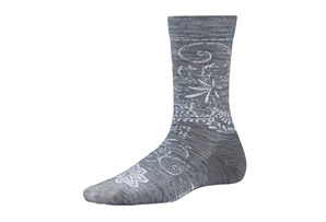 SmartWool Floral Scroll Socks - Women's
