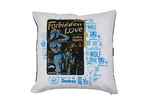Spacecraft Forbidden Love Pillow Case