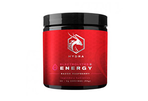 SIX Nutrition Hydra Energy Hydration Raspberry Canister - 30 Servings