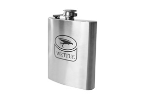 Wetfly 7oz Single Wall 304 Stainless Hip Flask