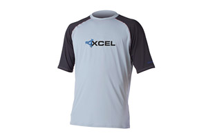 Xcel 6oz 2-Color SS Rashguard - Mens