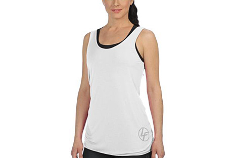 Life Fitness Twist Back Tank - Womens