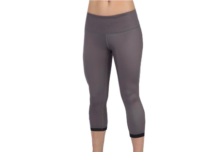 Life Fitness Reversible Capri Legging - Womens