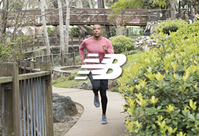 Performance Running Footwear & Apparel - Men's