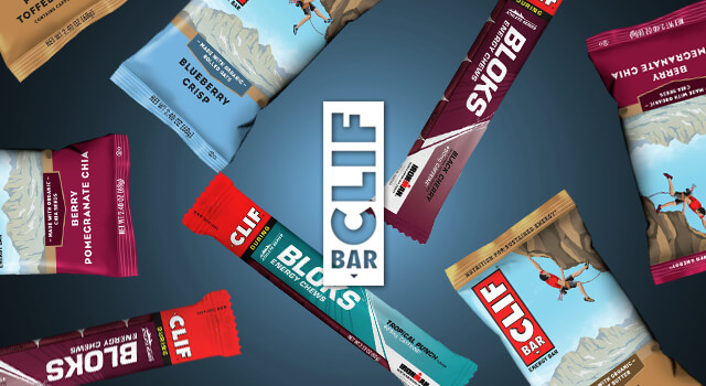 Just Restocked: Energy Bars & Chews