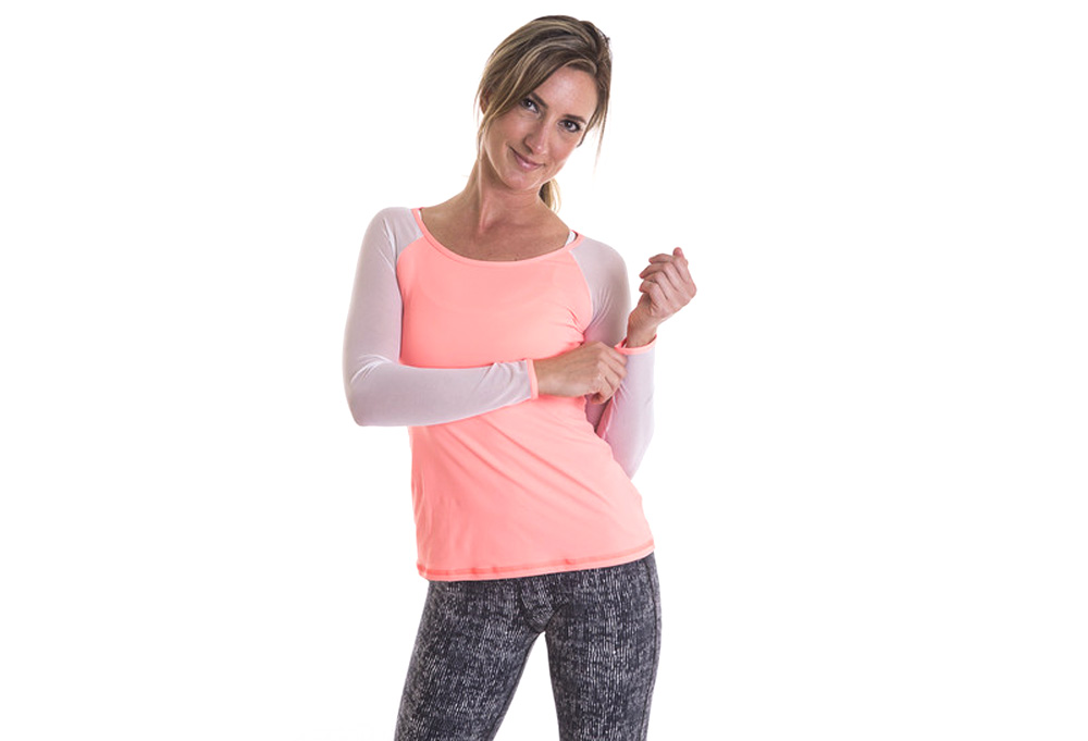 Alii Sport Alexia Mesh Long Sleeve - Women's