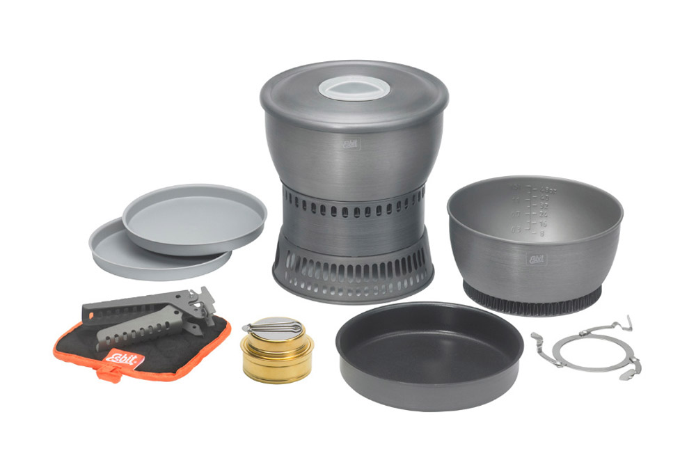 Esbit Alcohol Stove and Camp Cookset
