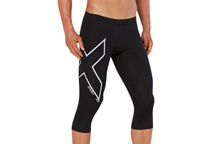 2XU Heat Compression 3/4 Tights - Men's