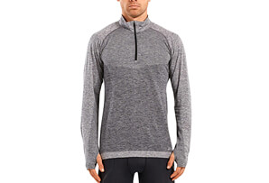 Engineered 1/4 Zip Long Sleeve Top - Men's