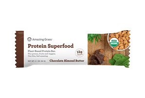 Amazing Grass Protein Chocolate Almond Butter Bar - Box of 12