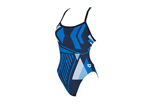 Arena Vertex One Piece Challenge Back - Women's