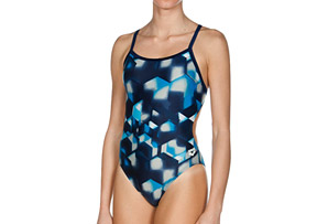 Arena Lava One Piece Challenge Back - Women's